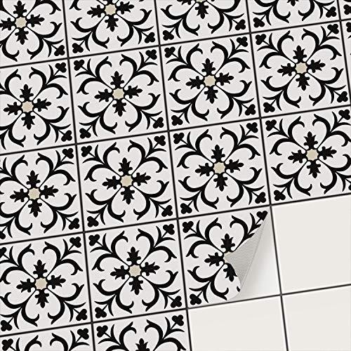 creatisto Mosaik Klebefliesen Stickerfliesen Fliesenfolie - Hochwertige Sticker Aufkleber für Wandfliesen | Stickerfliesen - Mosaikfliesen für...