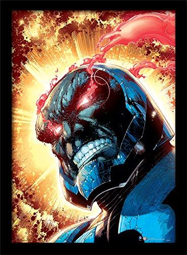 DC Comics 30 x 40 cm iMarkCase Darkseid impresión enmarcada