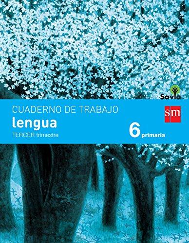 Cuaderno de lengua. 6 Primaria, 3 Trimestre. Savia - 9788467578560