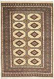 CarpetVista Pakistan Buchara 2ply Teppich 123x176 Orientalischer Teppich
