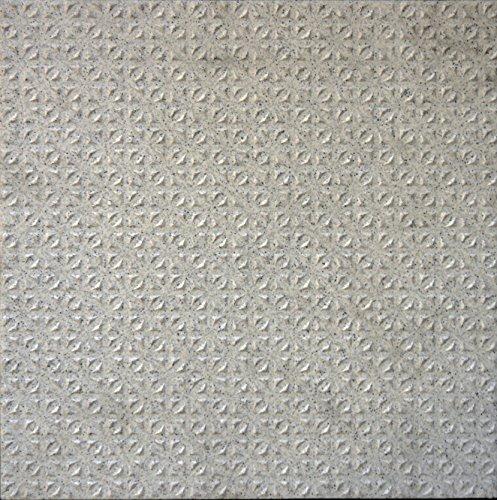 Creme Bodenfliese (Bodenfliesen, Feinkorn grau creme R12, 20x20x0,9cm, 1Karton=1,0qm Mosako)