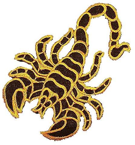 Badges Jaune Scorpion | G013