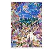 Diamante pintura, nelnissa 5d pintura de diamante mosaico bordado Fantasía caballo DIY Kit de punto de cruz
