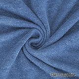 Neotrims Soft Jersey, Knit Purl gebürstetem Stoff, 26 Farben Baby Fotografie, Hintergrund, luxuriöser Velours Mohair Griff und Look, tolle Fall, perfekt für die Fotografie nackdrops und Kleid machen (Dark Sapphire, 2 meters)