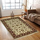 DRI00038 Traditional Hand Knotted Oriental Rug Carpet 48 X 72 Inches Red