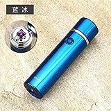 Cigarette Allume-Cigare USB Charge Double Arc allumeur personnalité Coupe-Vent Cadeau Allume-Cigarette électronique Briquet, R