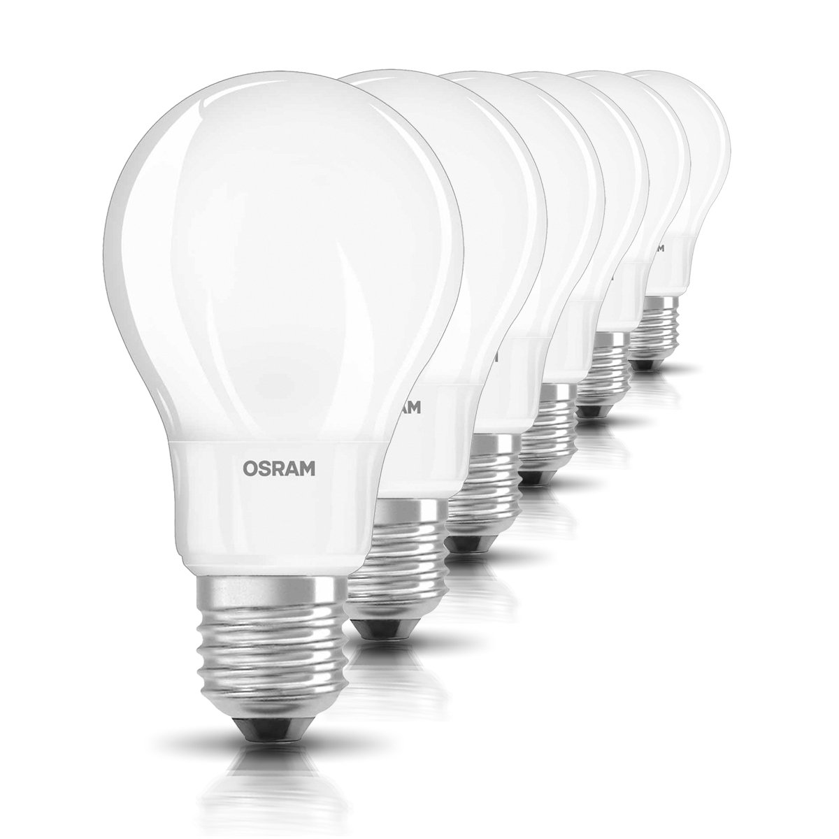 Osram LED Star Classic A, in Kolbenform mit E27-Sockel, Nicht ...