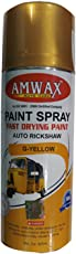 Amwax Car and Bike Paint Spray Copper,Gold,Zink 400 Ml