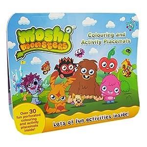 Alligator Books - Libro para colorear Moshi Monsters (ALLI2480MMPM)