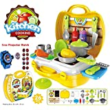 Kids Choice Kids Luxury Kitchen Playset Super Toy for Girls, Multi Color