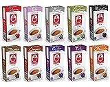 100 Nespresso kompatible Kapseln von Bonini - Probierpaket mit 10