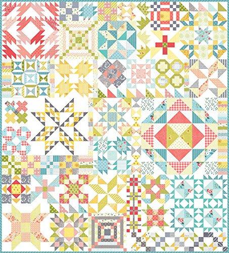 Dessert Sampler Farbe Schnitte Quilt Top Kit mit Moda PreCuts -