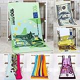 Best Creative Bath Bath Towels Quick Dries - Bazaar 70x140cm Absorbent Microfiber Beach Towels Creative Design Review