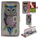 Ooboom® LG G2 Hülle Flip PU Leder Schutzhülle Handy