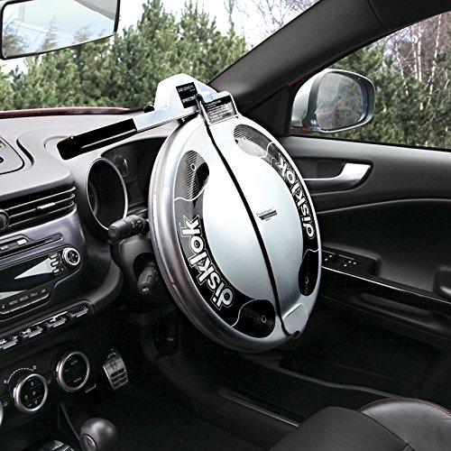 Disklok Steering Wheel Full Cover Security Lock Thatcham Approved (Medium, 39cm - 41.5cm)