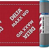 Dörken Delta Maxx WD Unterspannbahn für Walm-Dach diffusionsoffene und selbstklebende Unterdeckbahn Sd-Wert: 0,15 m