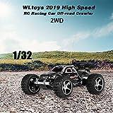 Festnight WLtoys 2019 1/32 2WD Mini RC ad Alta velocità per Auto da Corsa Fuoristrada per Bambini Principianti