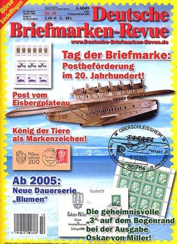 Deutsche Briefmarken Revue Jahresabo Amazonde Zeitschriften