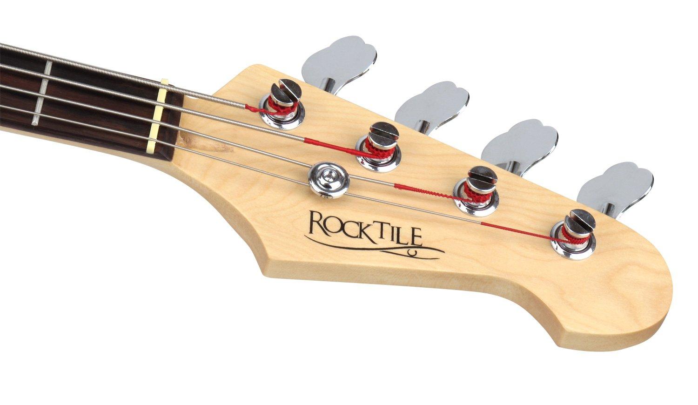Rocktile JB Pro-30BK 70 Deluxe Basso Elettrico, Nero
