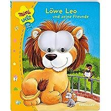 Löwe Leo und Freunde. Bewegliche Kulleraugen, erste Reime (Bilderbuch ab 18 Monate)