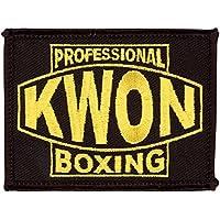 Kwon Stickabzeichen professional Boxing schwarz/gold
