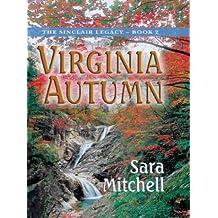 Virginia Autumn: The Sinclair Legacy (Thorndike Christian Fiction)