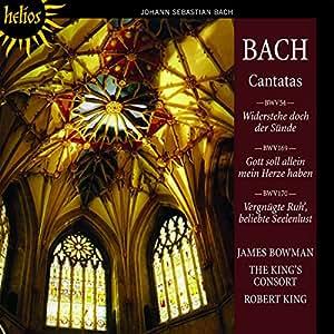Bach: Cantatas Nos. 54, 169 & 170