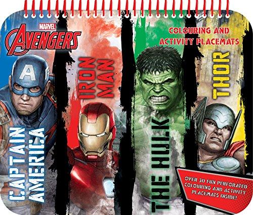 Anker Avplm1 Avengers Classico Da Colorare E Attività Tovaglietta