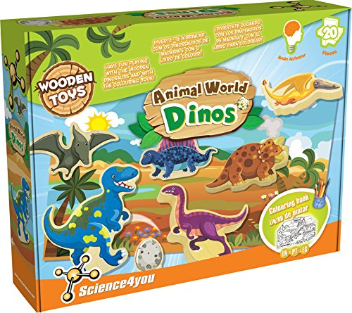 Science4you - Animal World Dinos, Juguete Educativo (488196)