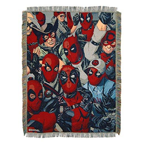 Marvel Überwurf Decke, Multi