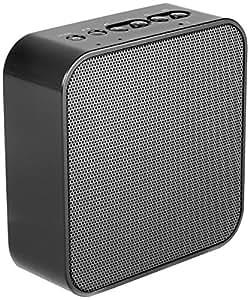 AudioAffairs Steckdosenradio in schwarz | Plug Radio inkl. AUX In Anschluss, USB Powerbank, Freisprecheinrichtung und UKW PLL Tuner | Küchenradio als Bluetooth Lautsprecher nutzen | Nur erhältlich auf Amazon.de