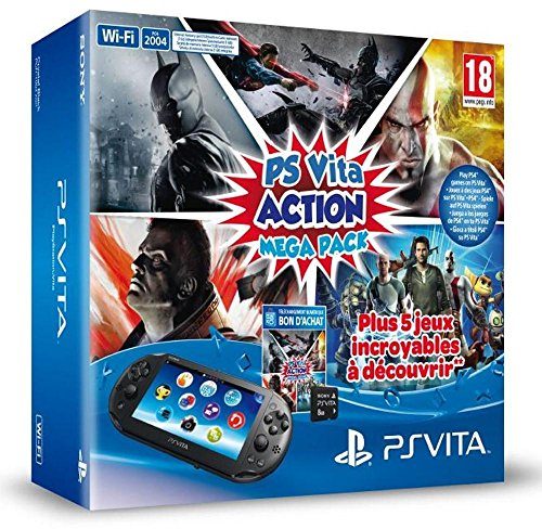Console Playstation Vita Wifi 2000 + Voucher Action MegaPack