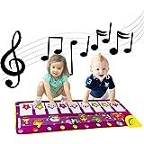 naosummy Tappetino Musicale per Pianoforte per Bambini, Tappetino da Danza Elettronico per Musica, Tappetino per Giochi con T