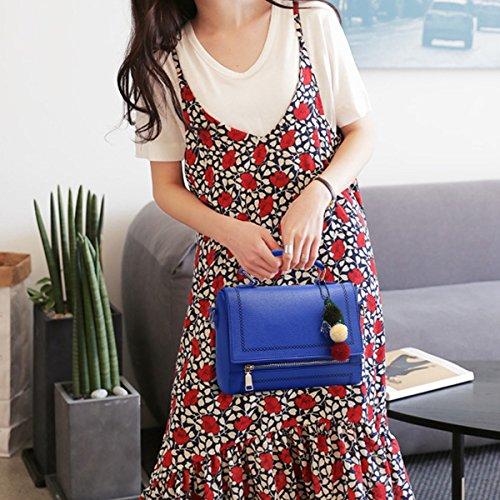 Versione Coreana Del Mini Sacchetto Mini Sacchetto Di Cuscino Sacchetto Messaggero A Mano SapphireBlue