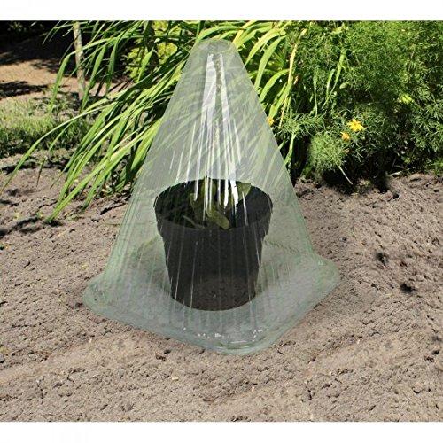 Pflanzhut Set Gewächs-Hauben Ziehglocke Pflanzenhut Gewächshaus Anzuchtglocke, Stück:40