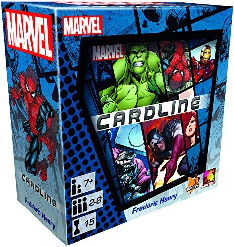 Asmodee 002799-Marvel Card Line