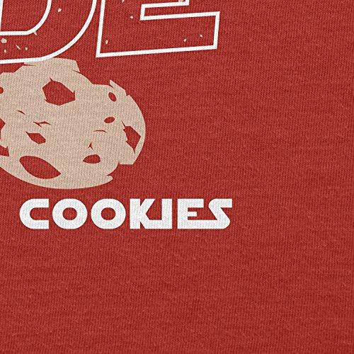 TEXLAB - We have Cookies - Herren T-Shirt Rot