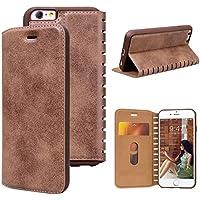 Preisvergleich für VemMore iPhone 6S Plus Hülle iPhone 6 Plus Hülle Handyhülle Schutzhülle Leder PU Wallet Flip Book Case Bumper...