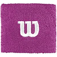 Wilson W Wristband Muñequera de Tenis, Mujer