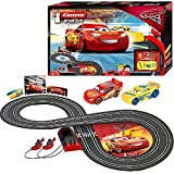 Carrera 20063010 - Pista Disney Cars 3, Colore Nero, 2.4 m
