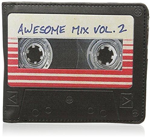 Batman Unisex-Erwachsene Guardians of the Galaxy Awesome Mixtape Wallet Geldbörsen, Blau (Indigo), One size