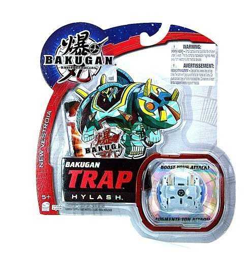 Bakugan Battle Brawlers New Vestroia Bakugan Trap - Grey Hylash by Bakugan
