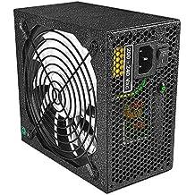 Tacens Valeo V 900 - Fuente de alimentación de ordenador (900 W, silenciosa, ventilador 13,9 cm, 12 V, sistema antivibración, 80Plus Silver, +85% eficiencia)
