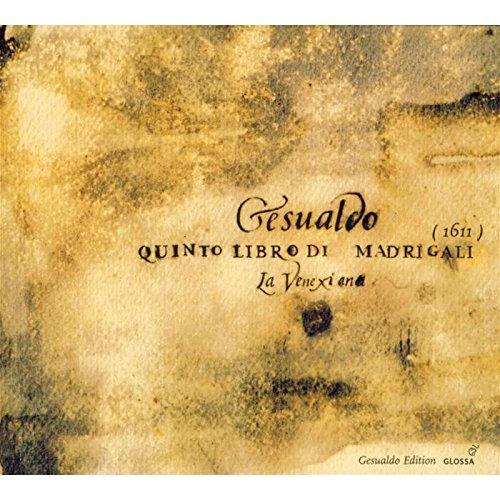 Gesualdo: Quinto Libro di Madrigali (1611)