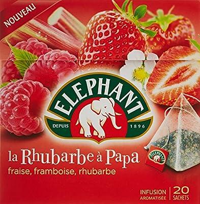 Elephant Infusion La Rhubarbe à Papa 20 Sachets 38 g