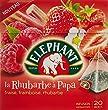 Elephant Infusion La Rhubarbe A Papa 20 Sachets 38g