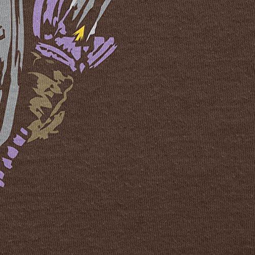 NERDO - Rough Painting Link - Herren T-Shirt Braun