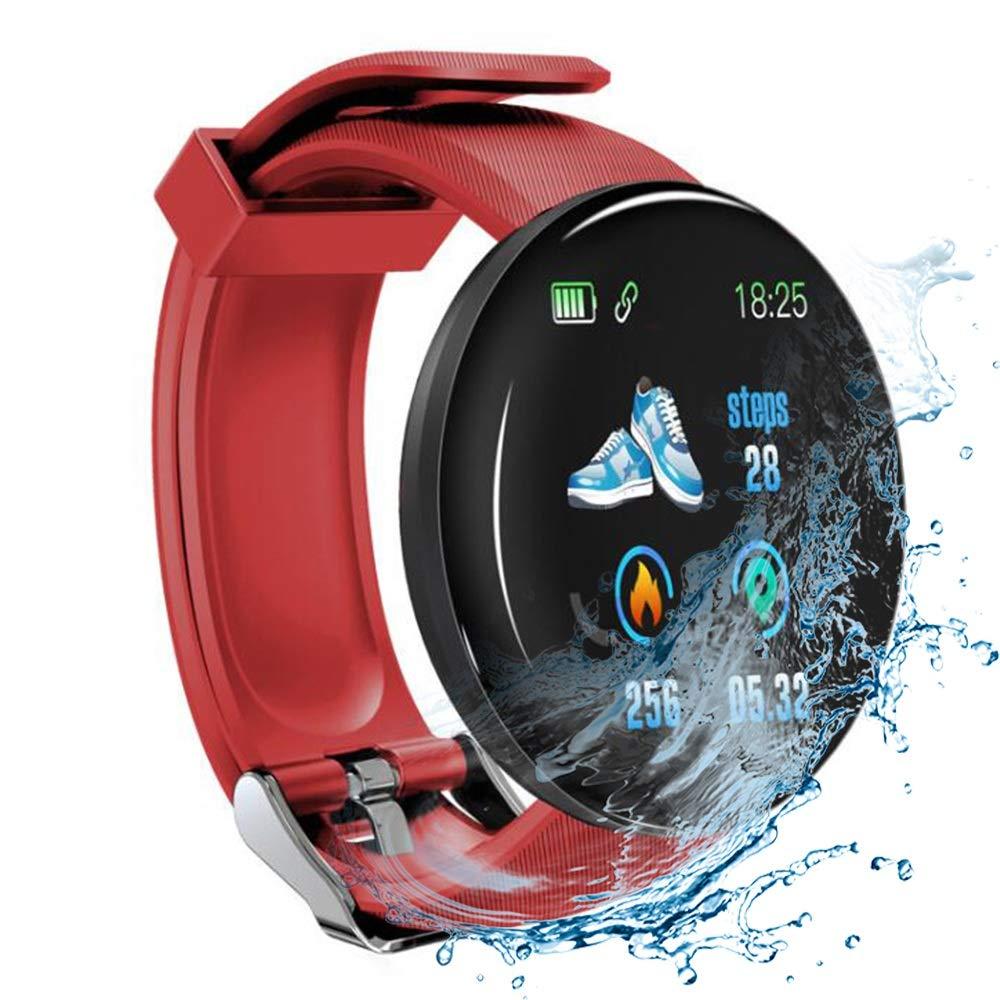 Minoni Smartwatch, Fitness Pulsera Reloj Completo Touch Screen Fitness Reloj IP68 estanco Fitness Tracker Sportuhr con… 1