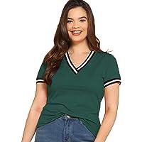 Fabricorn Stylish Plain Green Long Sleeve Cotton Tshirt for Women (Green)