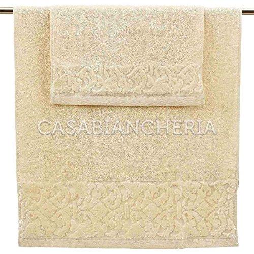 Paire serviettes baroque